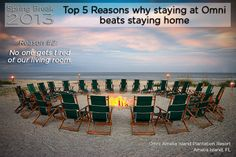 """""""Top 5 Reasons Why Spring Break With Omni Beats Staying Home"""": - Click through for more, and this year's Omni spring break deal."""