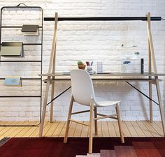 Inspiring home office with AA Desk - Posted by @quatuo  #designstore #brussel #designinbrussel #quatuor #homeoffice