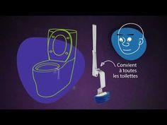 TadPole Twist, la brosse WC réinventée. La technologie, l'innovation et la nouveauté touchent beaucoup de domaines mais il en est un qui n'a pas forcément suivi la tendance de tout ce renouveau: celui des accessoires de salle de bain et plus particulièrement la brosse à toilettes. Double Usage, Innovation, Flush Toilet, Cleanser, Toilets, Technology