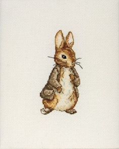 Maia Benjamin Bunny Mini Counted Cross Stitch Kit 4 1/4'X3' 16 Count by Maia,http://www.amazon.com/gp/product/B003FOXZ3M?ie=UTF8=homeofartandcraftssuppliesbysusanoliver-20=shr=213733=393177=B003FOXZ3M=1358036781=8-58=cross+stitch+beatrix+potter via @Amazon.com