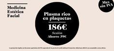 Facial CLINIQUE Promociones - Plasma Rico en Plaquetas SIN IVA