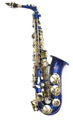 Royal Blue Alto Saxophone