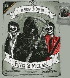 Estampa 'A Show Of Death' no Camiseteria.com. Autoria de rodisley jose da silva http://cami.st/d/56120