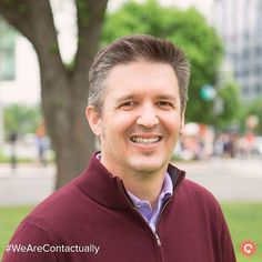 """Today on #WeAreContactually, meet Joel Mier! 1. Who?: VP of Marketing 2. Favorite ?: """"Two- labradoodle and french bulldog"""" 3. Why #Contactually?: """"I get to change the world of professional relationships + work with smart, fun, great people."""" #CRM #StartUp #RealEstate #RealEstateLife #Realtor #RealtorLife #RealEstateBroker #RealEstateAgent #Employees"""