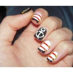 a manicure like this with an eight month old would last a day. if that. but I love it anyways.
