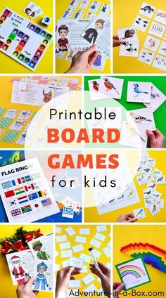 Printable board games for kids make learning a fun and engaging experience! Creative Activities For Kids, Kids Learning Activities, Creative Kids, Learning Tools, Craft Activities, Printable Games For Kids, Printable Board Games, Free Printables, Childrens Board Games