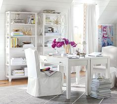 Office Inspiration | Pottery Barn. I want to work here someday.
