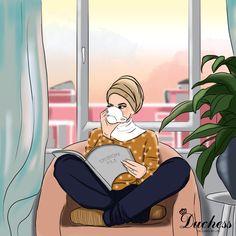 why this coffee is to delicious 😭😋 Cute Emoji Wallpaper, Cute Cartoon Wallpapers, Hijab Drawing, Islamic Cartoon, Anime Muslim, Hijab Cartoon, Girly Drawings, Illustration Girl, Islamic Art