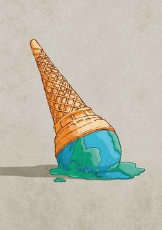 Protest Art, Protest Posters, Global Warming Poster, Global Warming Drawing, Earth Drawings, Environmental Art, Grafik Design, Illustrations, Zine