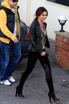 Cheryl Cole at Fountain Studios