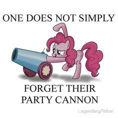 Pinkie Pie's Party Cannon