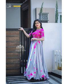Best 12 Image may contain: 1 person, standing Party Wear Frocks, Gown Party Wear, Blouse Designs Silk, Dress Neck Designs, Choli Designs, Kurta Designs, Long Dress Design, Stylish Dress Designs, Designer Anarkali Dresses
