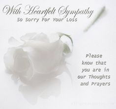 8 Best Sorry For Your Loss Images Condolences Sympathy Quotes