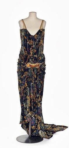 Callot Soeurs Dress - 1927 - Les Arts Décoratifs, Paris - @~ Mlle