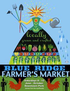 2012 farmers market poster