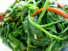 Filipino | Pinoy Recipes: Kangkong Salad