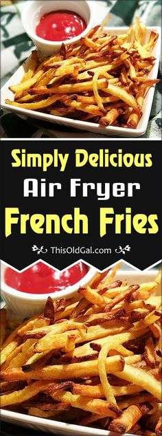 Fryer French Fries [Crisplid too!] - air fryer recipes and tips -Air Fryer French Fries [Crisplid too!] - air fryer recipes and tips - Air Fryer Recipes Meat, Air Fryer Recipes Breakfast, Air Frier Recipes, Deep Fryer Recipes, Power Air Fryer Recipes, Air Fryer Recipes Potatoes, Air Fryer Fries, Air Fryer French Fries, Homemade Fries
