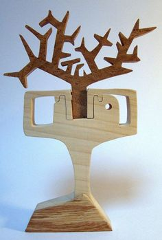 Ecco qualcosa di nuovo...con il  legno  Io lo trovo super simpatico!  Uno stile molto piacevole