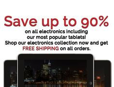 Today only! Join us for our Electronics Blowout Event on June 17th! Save up to 90% on your favorite electronic items plus FREE Shipping on your orders! Clearance.co #clearance #tablets #android #electronics Electronic Items, June, Android, Free Shipping, Electronics, Consumer Electronics
