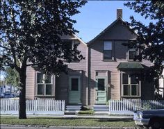601 and 603 15 Avenue SW (603 was the home of Freddie McCall in 1908) Alison Jackson Photograph Collection