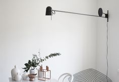 love this modern light via Varpunen