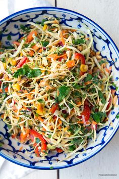 Asian Coleslaw & Madame Cuisine The post Asian coleslaw appeared first on Food Monster. Asian Coleslaw Dressing, Coleslaw Salad, Creamy Coleslaw, Vegan Coleslaw, Avocado Dressing, Jackfruit Burger, How To Cook Cauliflower, Antipasto Salad, Vegetarian Salad Recipes