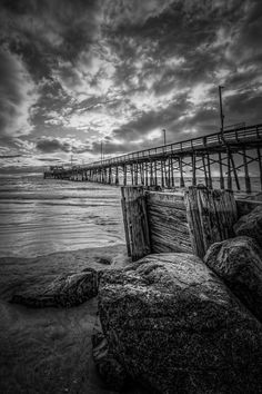 Newport Beach Pier by Michael  Smith on 500px