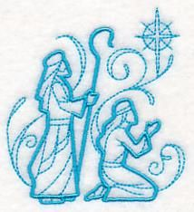 Machine Embroidery Designs at Embroidery Library! Christmas Nativity Scene, Christmas Art, Christmas Projects, Christmas Wishes, Christmas Ornaments, Nativity Scenes, Felt Ornaments, Christmas Colors, Christmas Decorations