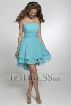 a74843f5c0 Christina Wu Celebrations 22538 This bridesmaid dress features a strapless  neckline pleated cummerbund accent at waist