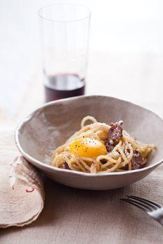 Spaghetti alla Carbonara by Mario Batali