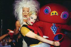 MommyFrazzled Productions: Photos That Capture the Heyday of New York City's Iconic Music Venues - The Limelight The Limelight was club kid central where the likes of Disco Bloodbath author James St. James, whose book was adapted for the film Party Monster, and designer Richie Rich loved to hang out (both pictured).