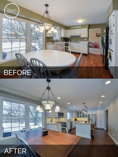 "White Kitchen Remodel Before And After fixer upper"" kitchen makeover! 