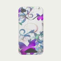 SOLD to Brazil!!  Butterfly Id Iphone 4 Case