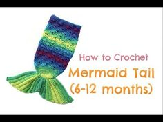 How to Crochet Mermail Tail months) Crochet Mermaid Tail Pattern, Crochet Mermaid Blanket, Crochet Baby Cocoon, Mermaid Tail Blanket, Crochet Baby Clothes, Crochet Flower Patterns, Mermaid Tails, Baby Mermaid Outfit, Crochet For Kids