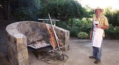 Patagonian-style BBQ Tools