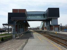 Cobourg VIA Rail Station. May, 2014. Photo by bucktracks.