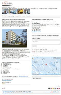 Pflegeheim, Physiotherapie, Pfäffikon, Demenz, Tagesheim, Pflegezentrum GerAtrium