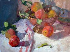 Jeanette Le Grue - Artists Who Teach Paintings I Love, Flower Paintings, Oil Paintings, Still Life Fruit, Impressionist Art, Impressionism, Fruit Painting, Fruit Art, Western Art