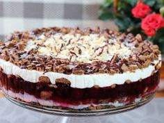 Food Cakes, Tiramisu, Cake Recipes, Food And Drink, Easy Meals, Ethnic Recipes, Cook, Kitchen, Pies