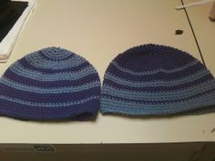 Ridiculously Easy Beanie (Bottom Up crocheting)