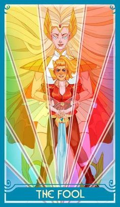 Geeks, Holographic Print, 3d Fantasy, She Ra Princess Of Power, Fanart, Animation, Tarot Decks, Magical Girl, Just In Case