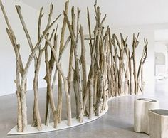 Home Rejuvenation (by KNQ Associates): TREE BRANCHES ROOM DIVIDER FROM NATSIQ OUTDOOR