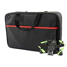 iFlight Handbag Case Carrying Bag for QAV-R 220 ZMR 250 RTF RC Quadcopter Racing Drone for Radiolink Transmitter *** Learn more by visiting the image link. Uav Drone, Quadcopter Racing, Drones, Drone For Sale, Suitcase, Image Link, Bags, Check, Handbags