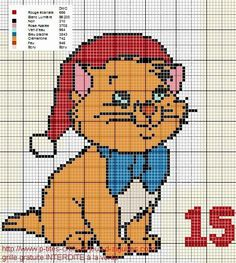 Pokemon Cross Stitch, Unicorn Cross Stitch Pattern, Xmas Cross Stitch, Cross Stitch Books, Cross Stitch Cards, Cross Stitch Patterns, Christmas Charts, Christmas Cross, Walt Disney