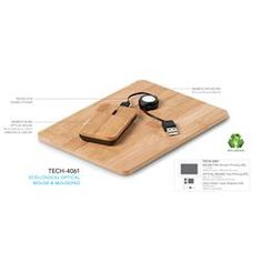 Branded Eco-Logical Optical Mouse & Mousepad | Corporate Logo Eco-Logical Optical Mouse & Mousepad | Corporate Gifts