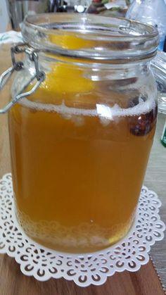 Regalar kefir: Kefir de agua con jengibre, limón, dátiles y azúcar moreno