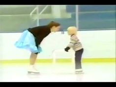 """""""In My Daughter's Eyes"""" - Katia and Daria  - Love this video - Music by Martina McBride....Beautiful Gold Medal Champion Pair Skaters Ekaterina Gordeeva and the late Sergei Grinkov and their daughter Daria Grinkov..... ♥ I love you, Aurey...♥"""