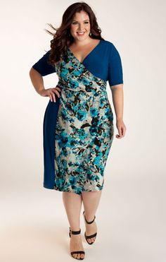 fc2598cddf Innes Plus Size Dress - Work Dresses by IGIGI The right cut make all the  difference big girls!