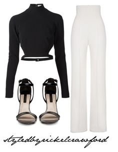 Untitled #28 by rxckelcrawford on Polyvore featuring polyvore, fashion, style, Thierry Mugler and Yves Saint Laurent
