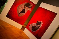 """MY ARTISTIC INSTALLATION """"Get rich of our reciprocal differences""""."""